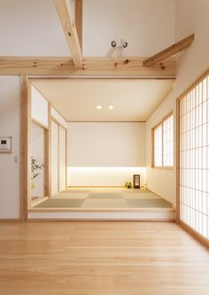Japanese Style Bedroom, Japanese Style House, Japanese Interior Design, Japanese Apartment, Tatami Room, Japan Interior, Japanese Minimalism, Minimalist Room, Apartment Interior