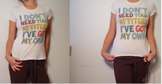White top. Maker: G21. 100% Cotton. Made in Bangladesh. Size S.
