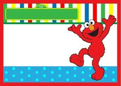 Sesame Street Birthday Invitations Are Great Way To Start Your Party Free Invitaton Templates