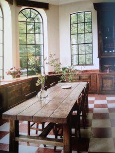 farm table. planks.