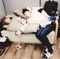 Sleeping Bangtan Boys | BTS | J Hope | V