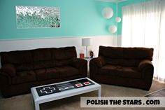 Polish The Stars: Nintendo Controller Coffee Table (DIY Tutorial)