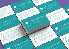 Double-sided business card in three variations. Double Sided Business Cards, Logo Design, Graphic Design, Business Card Design, Collection, Calm, Visual Communication