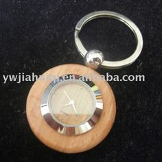 Woonden keyring with direct price and low logo Wooden Keychain, Key Rings, Bracelet Watch, Watches, Personalized Items, Metal, Accessories, Direct Sales, Design