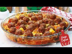 AKŞAMA NE PİŞİRSEM DİYENLER 📢 NEFİS BİR AKŞAM YEMEĞİ OLDU BAYILDIK👌(Fırında Sebzeli Köfte) - YouTube Ethnic Recipes, Youtube, Food, Olinda, Outfits, Turkish Recipes, Food And Drinks, Meals, Yemek