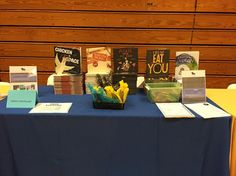 All set up and ready to go! Hudson Book Festival #kidlit #fun come out and join us!