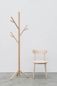 DesignByThem | Stem Tree, Them Chair - Rock Maple timber (photography by Nicole England)