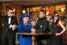 A STAFFORD pub has enlisted the help of some of Britain's most famous faces as it launches a search for the town's best lookalikes.  A-listers David and Victoria Beckham, Daniel Craig and even Her...