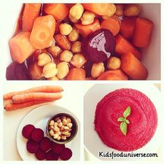 This yummy and super colorful chick pea, beetroot baby food puree is so easy to make and yet super delicious, freezable and nutritious