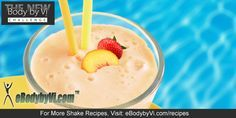 Body by Vi Peach Strawberry Cream Shake Recipe