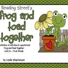 This collection contains a multitude of activities to supplement the story Frog and Toad Together in the Reading Street series.  It is specific to ...