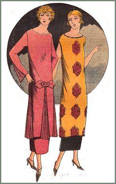 the 1920s- 1924 fashion
