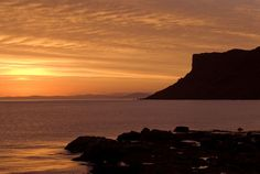 Sunrise over Northern Ireland