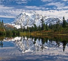 Mount Shuksan, Washington State