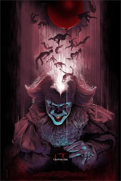 movie art Collection of Cool Movie Inspired Art From Hero Complex Gallerys Blacklight 3 Art Show GeekTyrant Horror Icons, Horror Movie Posters, Movie Poster Art, Horror Movies, Scary Wallpaper, Halloween Wallpaper, It The Clown Movie, Pennywise The Dancing Clown, Horror Artwork