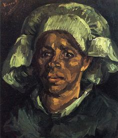 Peasant Woman, Portrait of Gordina de Groot - Vincent van Gogh