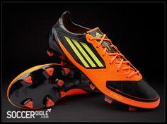 435a26f7efa6 adidas F50 adizero miCoach Football Boots - Black/Electricity/Warning -  http:/