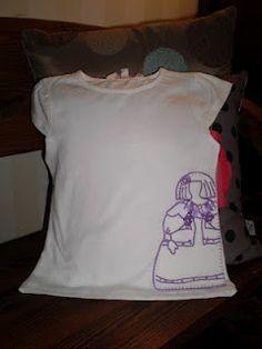 Camisetas decoradas a mano por alicia