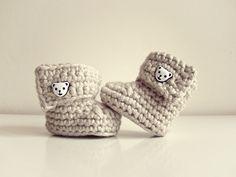 Buciki / Baby boots crochet
