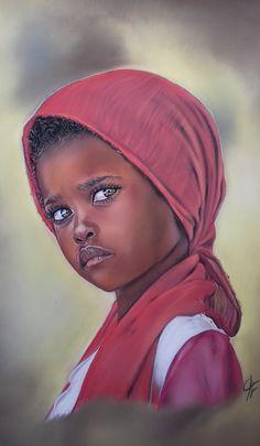 Colored Pencil Artwork, Pencil Art Drawings, Portrait Sketches, Portrait Art, African Art Paintings, Abstract Face Art, Caribbean Art, Art Prompts, Africa Art