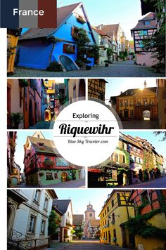"""Riquewihr is one of the crown jewels of the Alsace Region in France. One of the few towns not be greatly damaged in World War II, it still retains its original medieval charm and was the inspiration for the """"village"""" in Beauty and the Beast."""