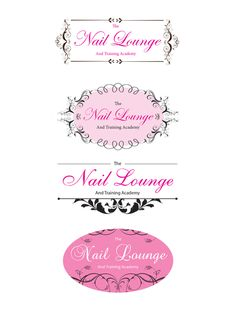 Logo proofs for a nail salon/ beauticians