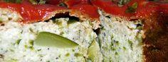 SANS GLUTEN SANS LACTOSE: Flan de courgette sans gluten et sans lactose