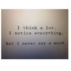 I literally do this all the time, and then later I'm kinda like….yeah I should have said something…..