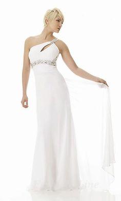 white long dress #kathyna257892 #whitedress #longfashion  www.2dayslook.com