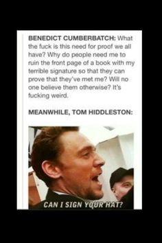 Hahaha... love Tom