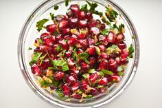 Roasted Red Onions with Pomegranate Gremolata by Not Without Salt