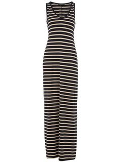 Dorothy Perkins  Tall ink and ivory maxi dress $21