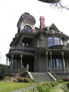 Gamwell House was built in 1890 in Bellingham Washington. victorian house | Victorian | Pinterest by Shirley Elliott