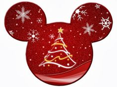 Imprimibles de Disney para Navidad Segunda Parte. 5 imágenes diferentes.
