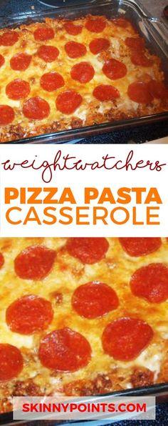 Pizza Pasta Casserol