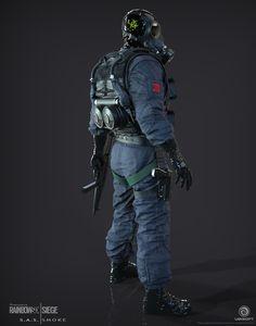 Smoke Smoke  SAS Operator I created for Tom Clancy's Rainbow 6  Siege.  by Jempix - Page 23
