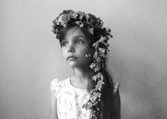 Garden flower crown : Kirsten Rickert