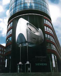 Advertising: Big Siemens machine