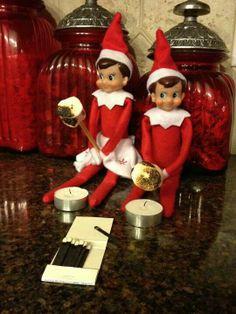 Elf n the shelf #elfontheshelf