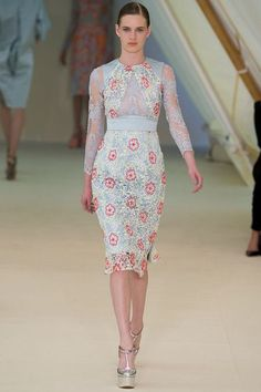 1. Erdem Spring 2013 RTW Collection9. I adore this