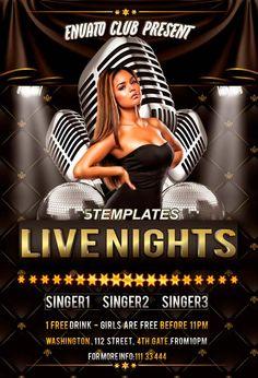 Live Nights Throwback Party Free Flyer PSD Template - http://freepsdflyer.com/live-nights-throwback-party-free-flyer-psd-template/ Enjoy downloading the Guest DJ Party Free Flyer PSD Template crated by KlarensM!    #Beats, #Club, #Dance, #Electro, #Indie, #Karaoke, #Party, #Rock, #Singer, #Songwriter, #Throwback, #Urban