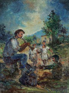 Παλαιολόγος Χαράλαμπος – Charalambos Paleologos [1833-1901]   paletaart – Χρώμα & Φώς