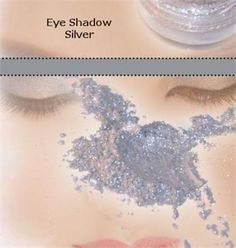 Mineral Shimmer Eyeshadow-Silver
