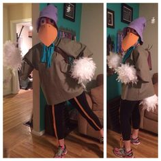 Robin Hood Disguised as Stork Running Costume - Princess 10K 2016 - Enchanted 10K 2016 - Glass Slipper Challenge 2016 -Princess Half Marathon Weekend 2016 - RunDisney Costumes - the concept of the ribbon on the pants to be the stilts was a failure, they were popping off right and left so I pulled them off before I started running.