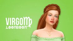 Meet Virgo in my Zodiacs as Sims series! Sims 4 Cc Packs, Sims 4 Mm Cc, Sims 1, Maxis, Klance Cute, Sims Love, Sims 4 Expansions, Sims Medieval, Sims 4 Characters