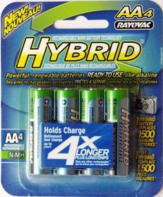 Rayovac LD715 4 Hybrid 2100mAh AA Rechargeable Battery Pack Buy Wholesale At