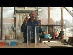 Soil Slake and Infiltration Test - Ray Archuleta - fascinating! Soil Conservation, Get Off The Grid, Grow Your Own, Mindful, Biology, Garden Ideas, Messages, Brown