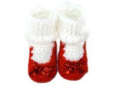 Dorothy's Slippers Crochet Shoes with White Socks Inspired by Wizard of Oz for Baby Months Size Crochet Baby Booties, Crochet Shoes, Crochet Slippers, Wizard Of Oz Film, Dorothy Wizard Of Oz, Red Slippers, Blue Socks, Irish Girls, Crochet Designs