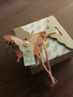 Stampin up! Envelope Punch Board Box für Ritter Sport Minis!