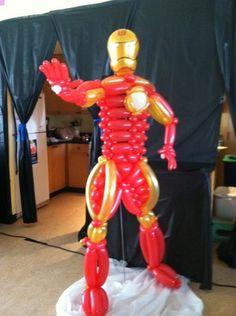 Iron Man Balloon Sculpture - Bay Area Balloon Twister | Yelp
